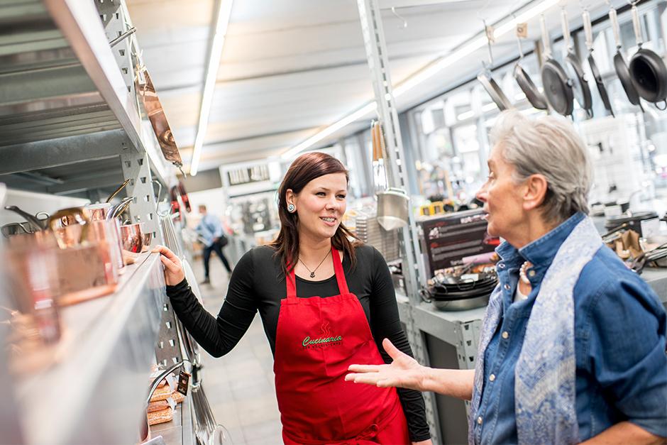 Cucinaria - das Fachgeschäft mit kompetenter Beratung