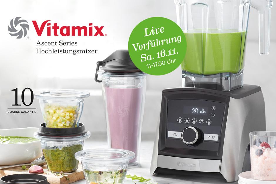 Vitamix - der Premium Mixer für mehr als Smoothies