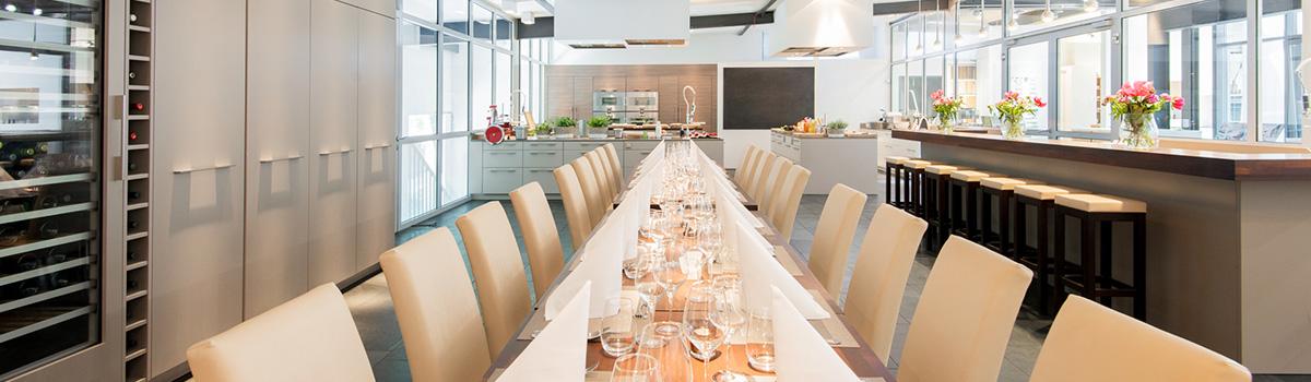 Cucinaria Kochschule Hamburg exklusiv mieten für Ihre private Feier, Weihnachtsfeiern oder anderen Firmenevents